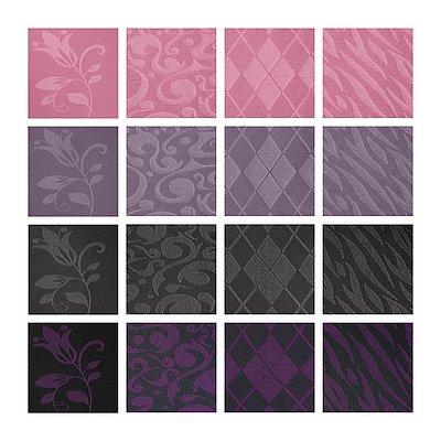 Overzicht van de kleuren en patronen