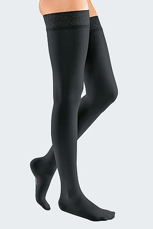 mediven elegance compression stockings black
