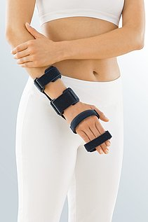 wrist orthosis fingers stable immobile