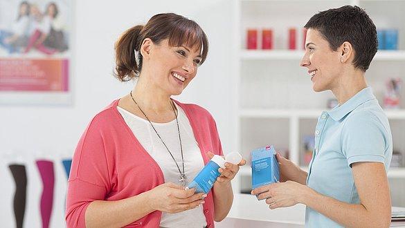 Reinigingsmiddelen voor kousen van medi - Reinigingsmiddelen voor kousen van medi