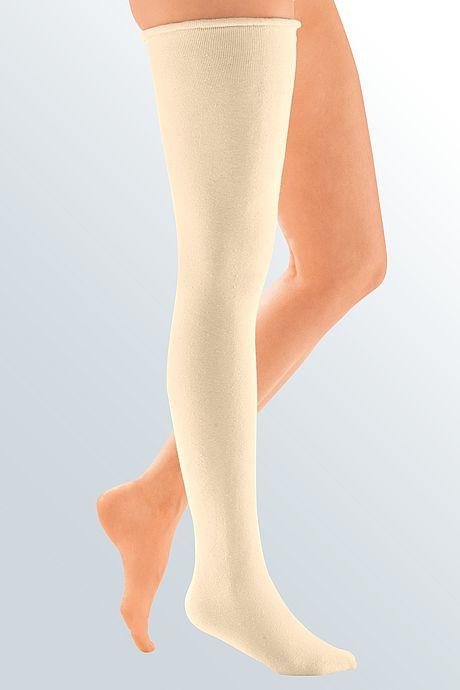 undersock stocking lycra compression inelastic