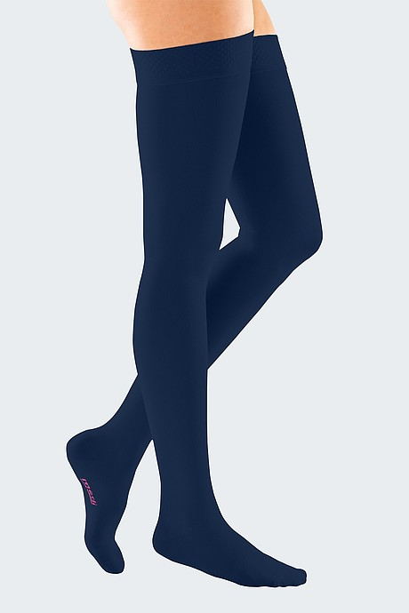 mediven forte compression stockings veanous treatment navy